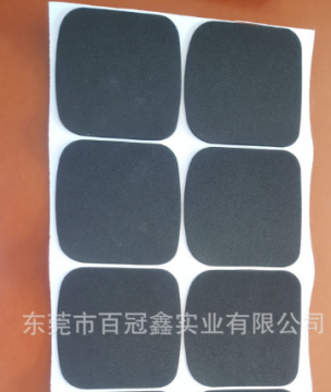 3M网纹圆形单面自粘EVA脚垫