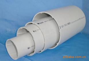 联塑PVC排水管PVC U 螺旋消音管材