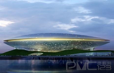 上海梅赛德斯奔驰文化中心展览馆 高清图片