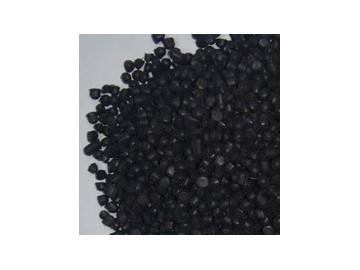 大量供应黑色环保无毒PVC插头料