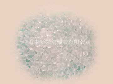 中山供应高透明PVC胶粒 刚性PVC塑胶颗粒
