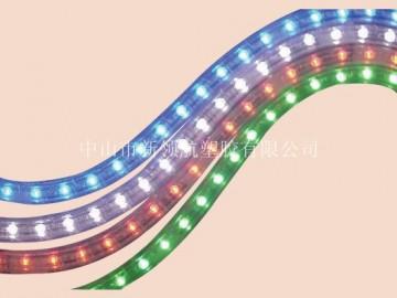 供应环保LED灯 节日灯配件PVC塑胶粒料