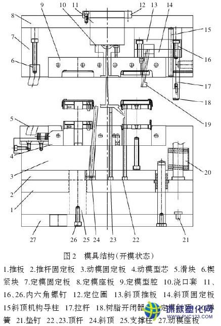 万能充电器外壳结构和模具设计