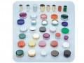 化妆品塑料盖子喷漆产品