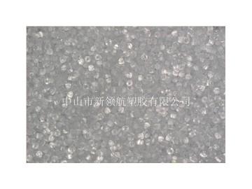 现货批发PVC透明粒料 PVC硬质粒料