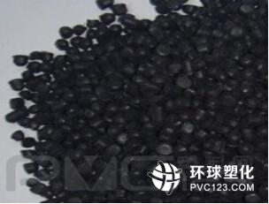中山自产自销环保黑色插头料 PVC插头颗粒