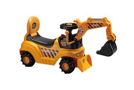 儿童玩具挖掘机火爆 购买需了解其材料成分