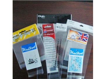 opp印刷卡头袋 服装卡头袋 高品质OPP卡头袋