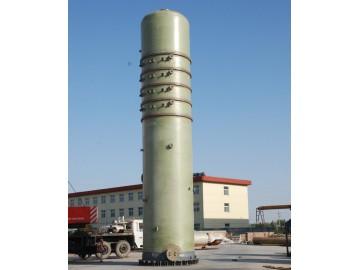 玻璃钢洗涤塔填料塔吸收塔净化塔尾气塔生产厂家最新
