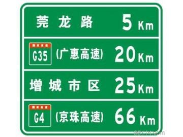 高速公路标志牌|高速
