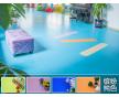 天津商用地板_商用塑胶地板施工