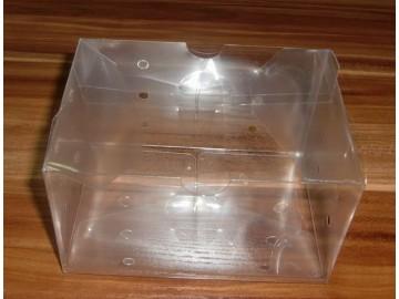 厂家供应pvc透明包装塑料盒子pet折盒pp吸塑包装盒子