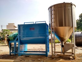 大型均化罐,均化仓,立式搅拌机,均化桶,混料机,卧式搅拌机