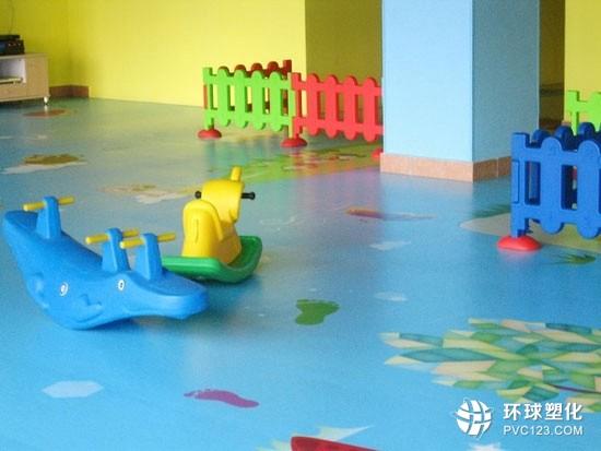 伟德客户端下载室内儿童游乐场运动地胶幼儿园舞蹈房pvc地板胶垫