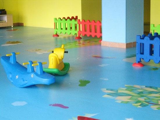 天津室内儿童游乐场运动地胶幼儿园舞蹈房pvc地板胶垫