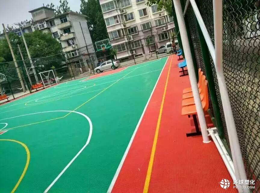 伟德客户端下载塑格室外篮球场用悬浮式拼装组装运动地板
