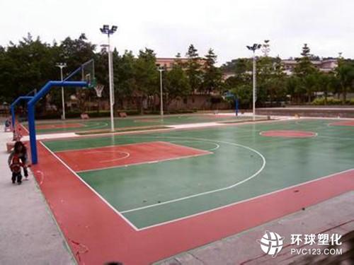 伟德客户端下载硅PU篮球场施工_硅PU篮球场铺装