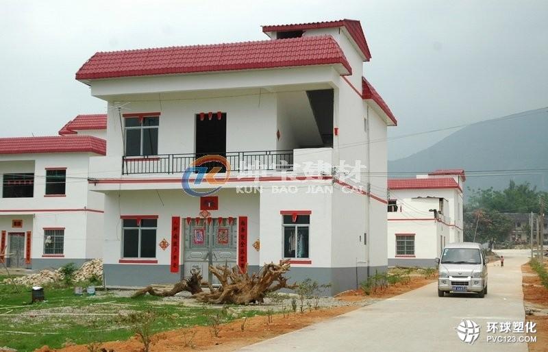 新农村自建别墅屋面瓦的选择及价格预算
