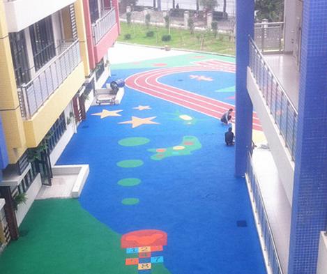 幼儿园塑胶运动地面施工方案
