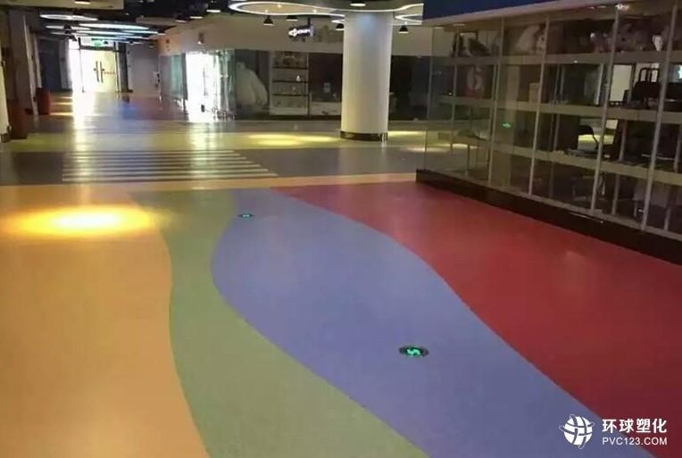 商业场所pvc塑胶地板 凯立龙弹性pvc塑胶地板服务专家