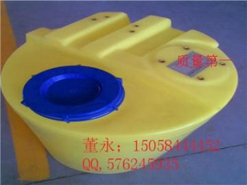 钟祥500L塑料加药箱\500L耐酸碱PE搅拌桶供应现货