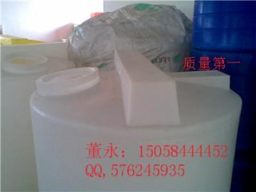 公安500L塑料加药箱\500L耐酸碱PE搅拌桶现货提供