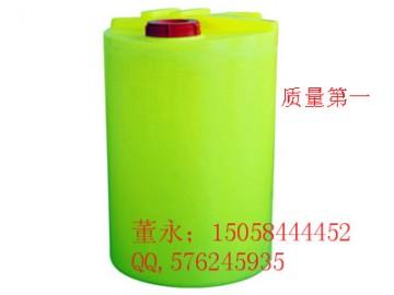 响水500L塑料加药箱\500L耐酸碱PE搅拌桶现货直销