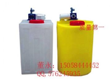 大丰500L塑料加药箱\500L耐酸碱PE搅拌桶价格