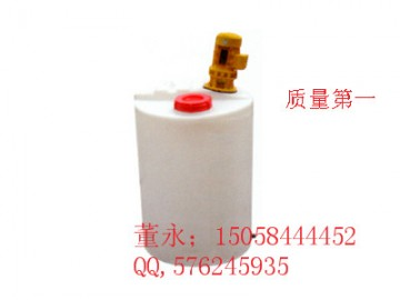 东台500L塑料加药箱\500L耐酸碱PE搅拌桶质优价低