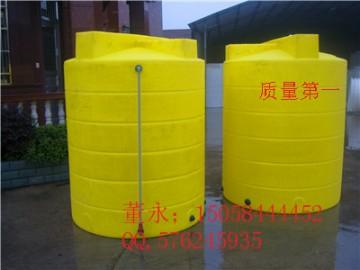 洪泽500L塑料加药箱\500L耐酸碱PE搅拌桶质优价廉
