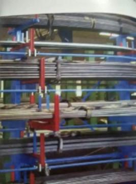 建材货架 方管货架 圆管货架 异性管货架—伸缩式悬臂货架