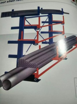 拉出式货架—方管 圆管 异型管材 工具 长尺寸货物存储