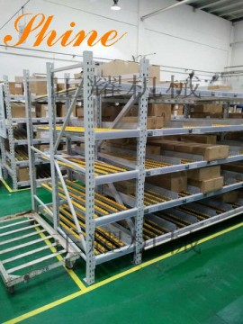 流利式货架在日本TAKATA汽车部件公司交付使用