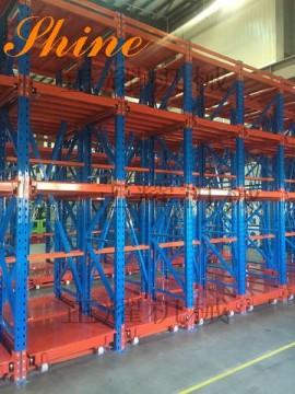 麥格納集團量身定做的5噸重型抽屜式模具貨架投入使用