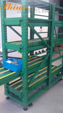 国内移动抽屉式货架新款产品已交付使用