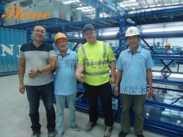 北京抽屜式模具貨架免費設計送貨安裝