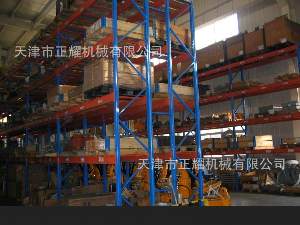 河北重型貨架承重力大,密集度高,存儲量大。
