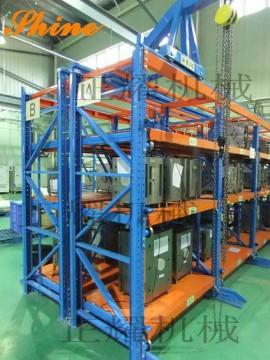 大連貨架廠生產正耀模具貨架 重型模具貨架 抽屜式模具貨架