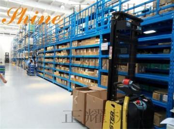 沧州阁楼式货架 二层阁楼式货架 免费设计 安装 价格优惠