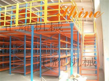 北京阁楼式货架 二层阁楼式货架 免费设计 安装 价格优惠