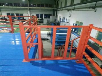 """正耀为""""清华团队""""项目设计的阁楼式货架平台投入使用"""