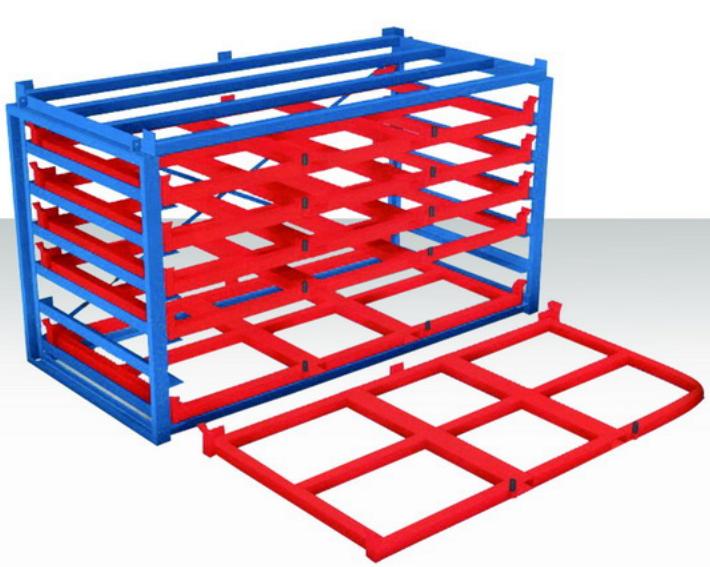 平托盘货架可存储板材