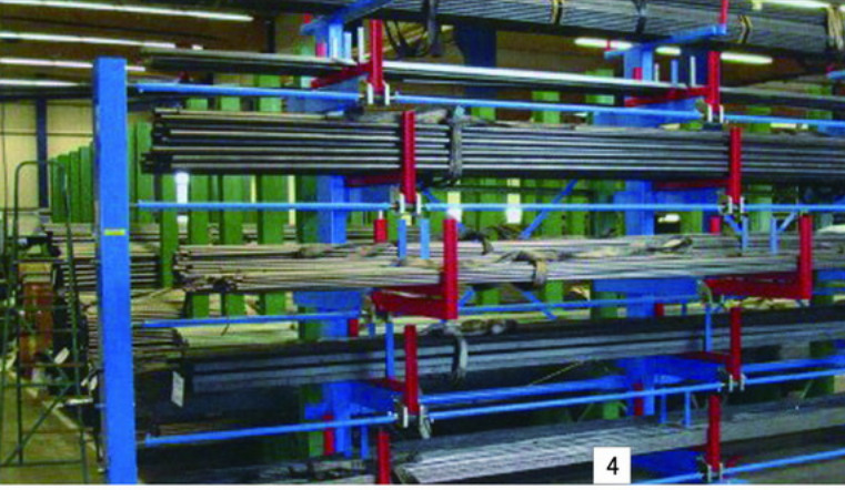 河南长管货架存储长度达到70米及更长