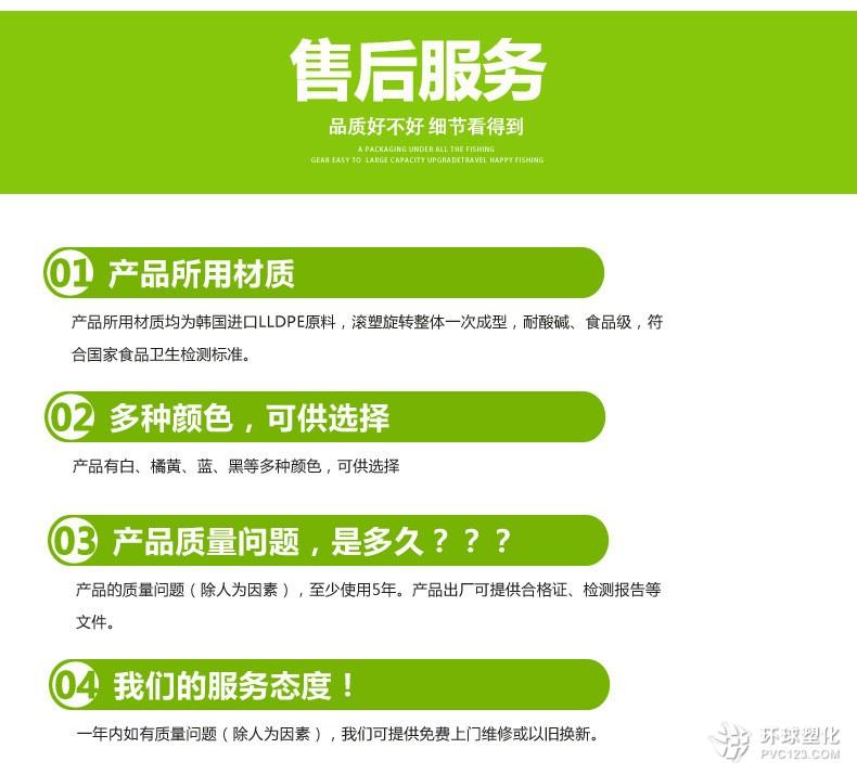 武汉30吨塑料水箱PE水箱塑料水塔
