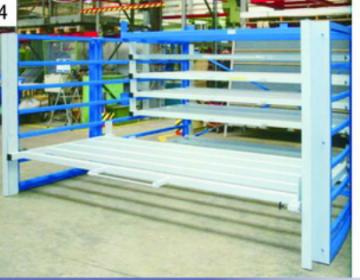 北京板材货架—正耀抽屉式板材货架厂家