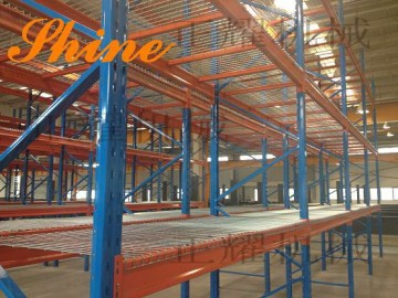 天津货架厂生产天津正耀3746横梁式中型货架 免费安装