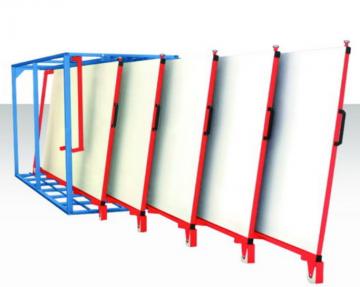 河北薄板货架存储板材、家具板、彩钢板 正耀抽屉式板材货架