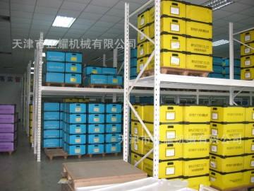 天津中型货架厂 天津正耀8167搁板式中型货架
