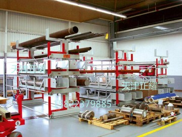 拉出式貨架存放管材 板材 軸類 棒材 長貨物 大件貨物