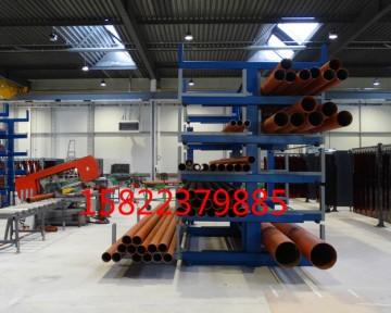 铁管专用货架存放多种规格的铁管 使用方便 可定做